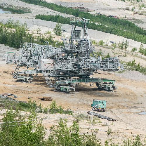 Na zastavení nezákonné těžby