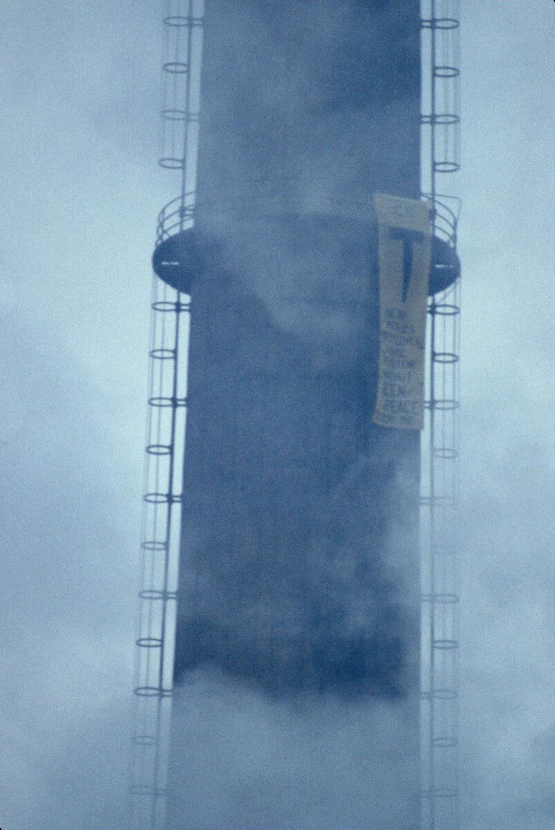 1984 První akce Greenpeace v Československu